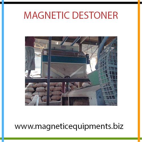 magnetic destoneter manufacturer